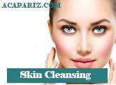 پاکسازی پوست صورت زنانه